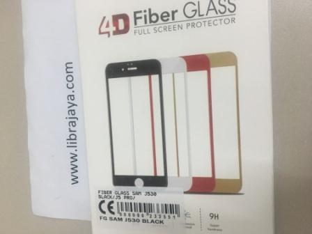 FIBER GLASS SAMSUNG J530 BLACK J5 PRO