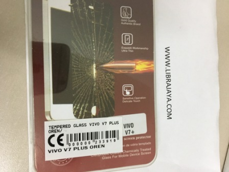 Tempered Glass Vivo V7 Plus