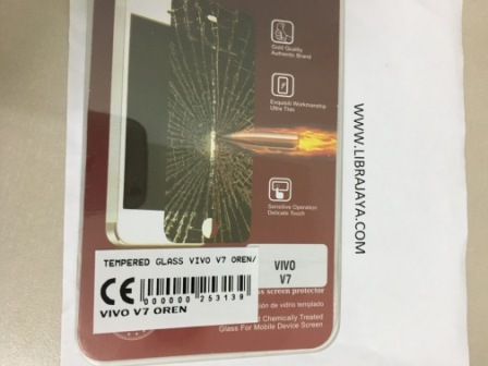 Tempered Glass Vivo V7