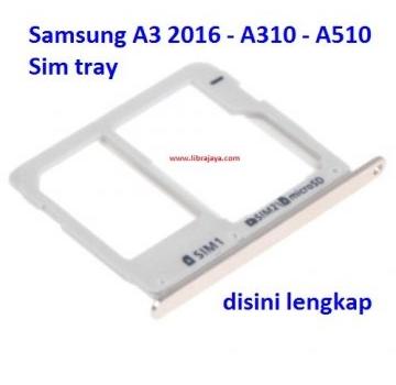 Jual Sim tray Samsung A3 2016