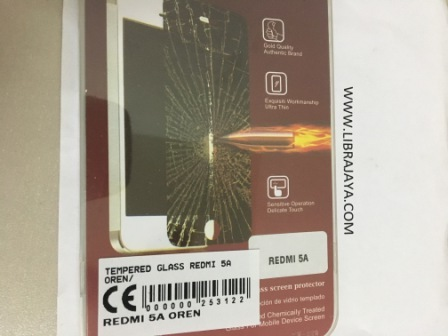 tempered Glass Redmi 5A