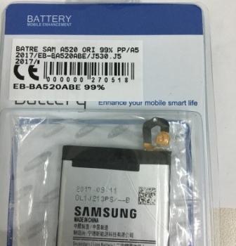Batre Samsung A520-A5 2017-Eb-Ba520Abe-J530-J5 2017