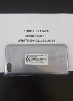 Tutup Batre Xiaomi Redmi 6A Grey 2Slot Sim