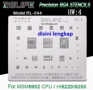 Jual Cetakan IC Relife RL-044 Universal