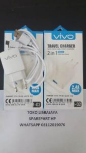 charger vivo cm-02 white dus