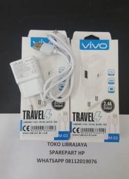 Charger Vivo Cm-03 White Dus