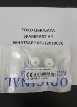 Handsfree Oppo F7 Ori 100%-Oppo R15
