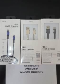 kabel-data-x027-fast-charge-3a-lightning-blue-wex