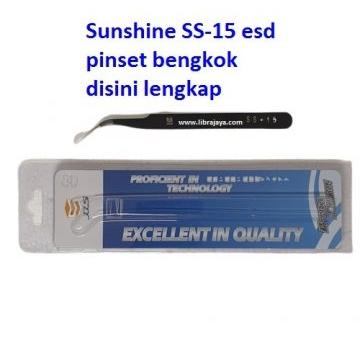 Jual Pinset Sunshine Ss-15 Esd bengkok