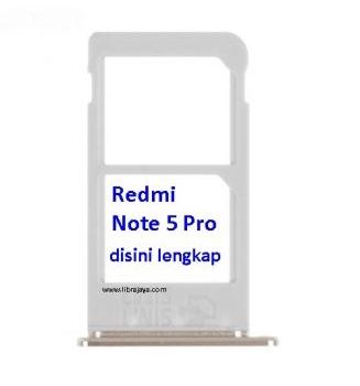 Jual Sim tray Redmi Note 5 Pro