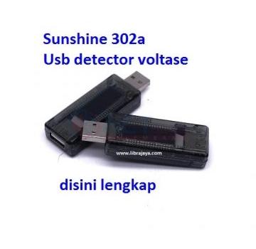 Jual Usb Detektor Voltase Sunshine Ss-302A