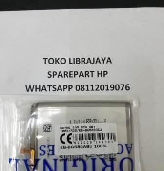 Batre Samsung M20 Ori-M30-Eb-Bg580Abu