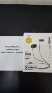 Handsfree E308 The King Of Singing Black Wex