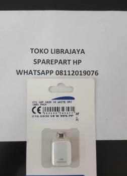 Otg Samsung G930 V8 White Ori Pack-Galaxy s7