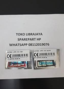 Simtray Oppo A1K Black-Simlock-Tempat kartu simcard
