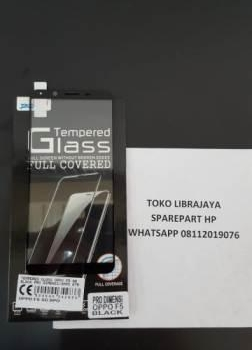 Tempered Glass Oppo F5 5D Black Pro Dimensi-Oppo A79