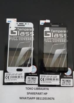 Tempered Glass Samsung J2 Pro 2018 5D Black Pro Dimensi