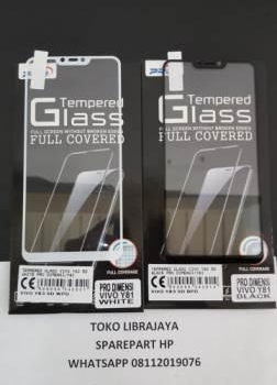Tempered Glass Vivo Y83 5D Black Pro Dimensi-Vivo Y81