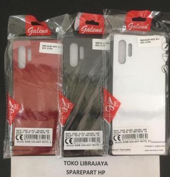 Back Case Glass Galeno Sam Galaxy Note 10 Pro-Note 10 Plus