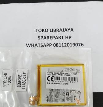 Batre Asus Zenfone 3 Laser Ori 100% Pp-C11P1606