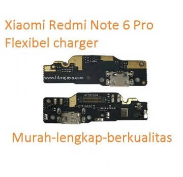 flexibel-fleksi-flexible-charger-papan-board-charge-tc-konektor-cas-usb-xiaomi-redmi-note-6-pro