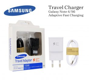 CHARGER SAMSUNG N910H BLACK ORI 100% DUS-NOTE 4-S6-2A-FAST CHARGING