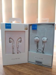 HANDSFREE VIVO XE-100 WHITE ORI 100% PACK