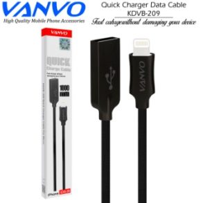KABEL DATA IPHONE VANVO KDVB-209