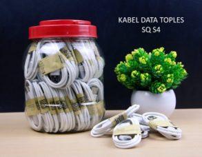 KABEL DATA SAMSUNG I9500 WHITE SQ-N7100 TOPLES ISI 60PCS