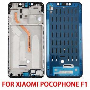 TULANG TENGAH-FRAME LCD XIAOMI POCOPHONE F1 BLACK