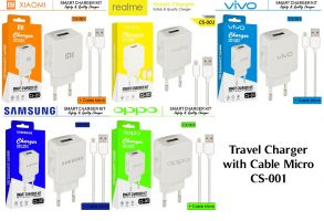 CHARGER CS-001 OPPO WHITE-2.1A 1USB