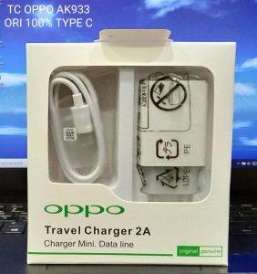 CHARGER OPPO MICRO WHITE ORI 100%-AK933-2A