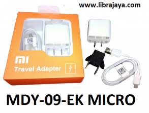 harga charger xiaomi mdy-09-ek micro-kaki gepeng