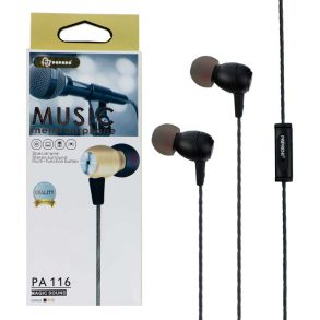 HANDSFREE PAPADA PA-116 BLACK PP
