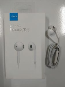 HANDSFREE VIVO XE-160 WHITE ORI 100% PACK
