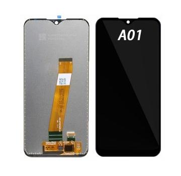 LCD SAMSUNG A015F BLACK-TS-GALAXY A01