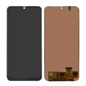 LCD SAMSUNG A205 BLACK OLED2-TS-GALAXY A20