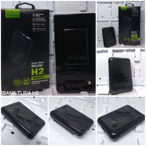 POWER BANK 10000 MAH TLIDA H2 BLACK