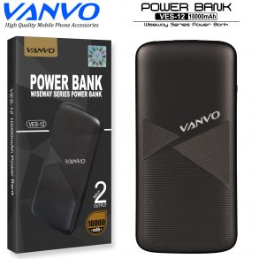 POWER BANK 10000 MAH VANVO SLIM VES-12 LED GOLD