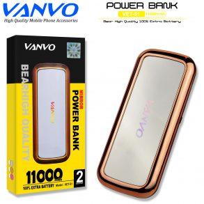 POWER BANK 11000 MAH VANVO VET-51 LED BLUE