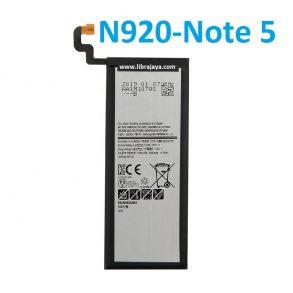 harga baterai samsung n920-note 5-eb-bn920aba