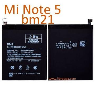 Jual Batre Xiaomi Mi Note 5 BM21