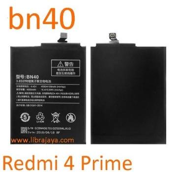 Jual Baterai Xiaomi Redmi 4 Prime BN40