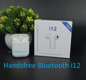 harga handsfree bluetooth I12