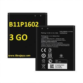 harga baterai asus zenfone 3 go b11p1602