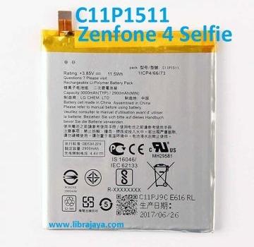 Jual Baterai Asus Zenfone 4 Selfie C11P1511