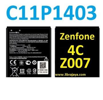 Jual Baterai Asus Zenfone 4C Z007 C11P1403