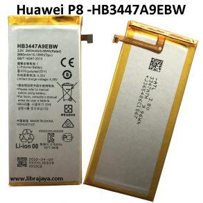 harga baterai huawei p8 hb3447a9ebw