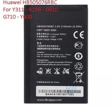 baterai huawei y311 hb505076rbc