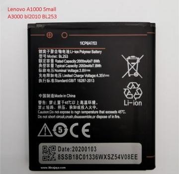 Baterai Lenovo A1000 BL253